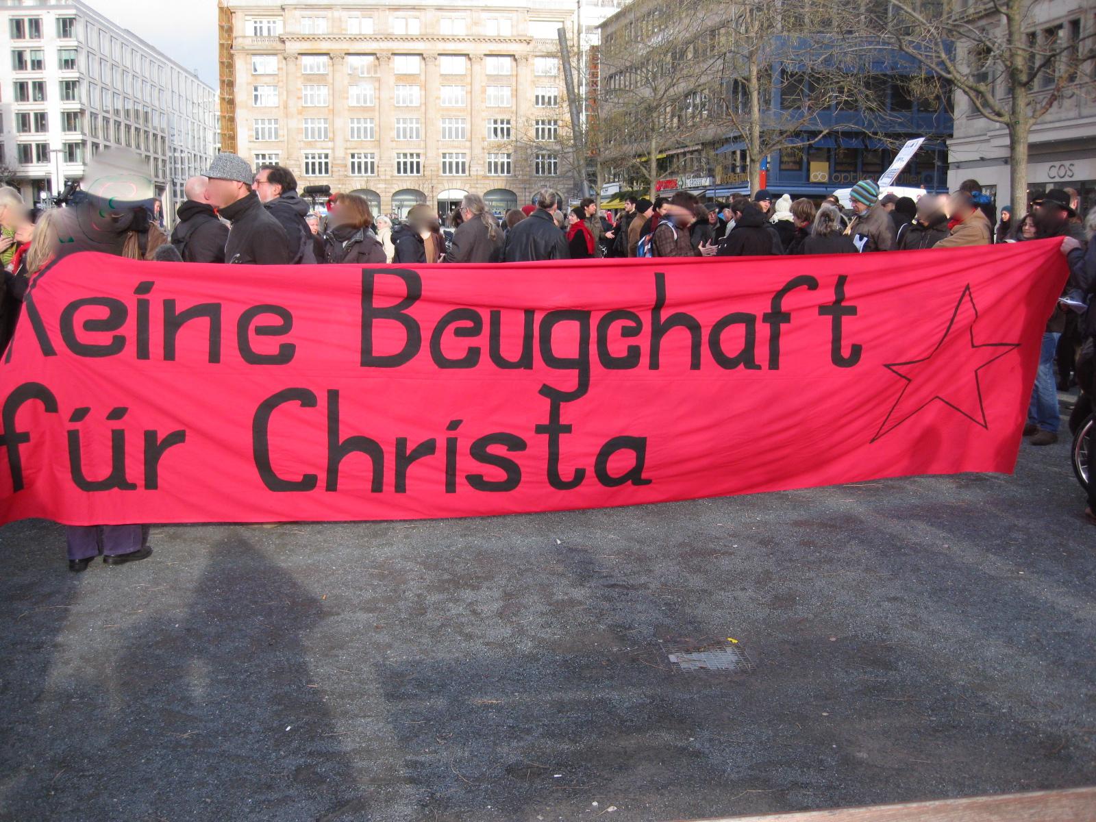 Keine Beugehaft für Christa, Frankfurt a.M. 17.12.2011